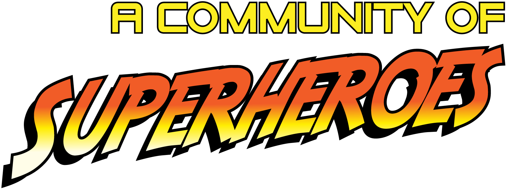 a community of superheroes