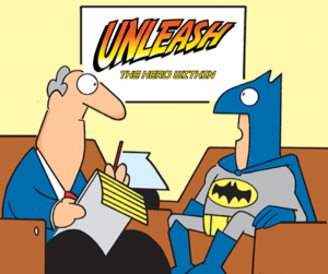 interview Unleash the hero within