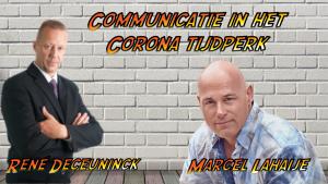 Communicatie in het Corona tijdperk
