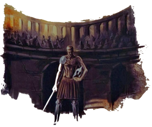 man in de arena